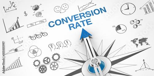 Conversion Rate Fototapet