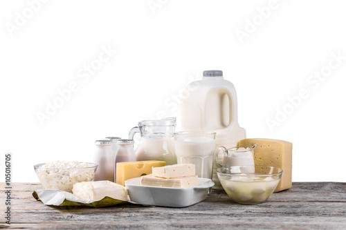 Poster Produit laitier Dairy products