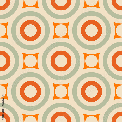 Fotografía  Abstract geometric background, modern seamless pattern
