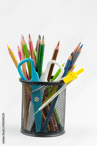Valokuva  Renkli Kalemler