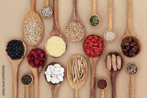 Garden Poster Assortment Dried Super Health Food