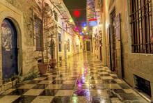 Colors, Night, Rain - Ioannina City, Greece