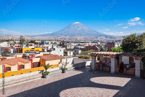 Photo Misti volcano