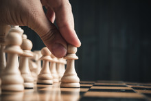 Chess Pieces On The Board