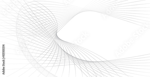 Tuinposter Abstract wave business background lines wave abstract stripe design