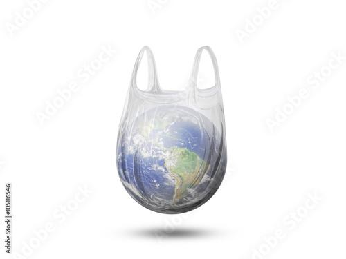 Fotografía  Planète Terre - Danger du plastique