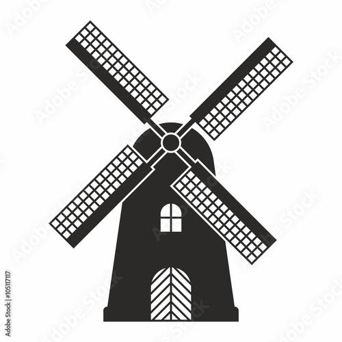Fotografía  Windmill icon