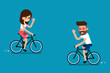 People on Bikes.