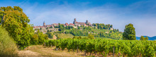 Historic Town Of Vezelay With Famous Abbey, Burgundy, France