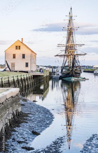 Fotografie, Obraz  old galeon in Salem