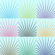 Vector Background. The Lights Of A Sun. Eps 10.