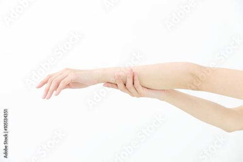 腕・若い女性 Fototapeta