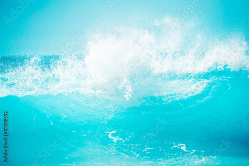 In de dag Zee / Oceaan 激しい大波,ハワイのノースショア