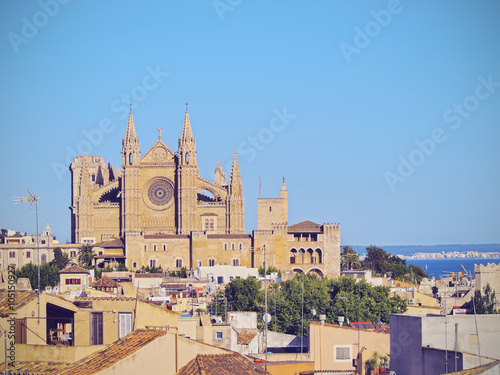Staande foto Noord Europa Cathedral in Palma of Majorca