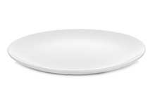 White Plate Isolated On White ...