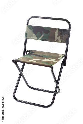 Miraculous One Folding Canvas Chair Isolated On White Buy This Stock Ncnpc Chair Design For Home Ncnpcorg