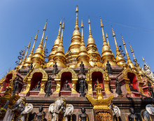 Wat Phra That Suthon Mongkol Khiri Temple In Phrae At Thailand