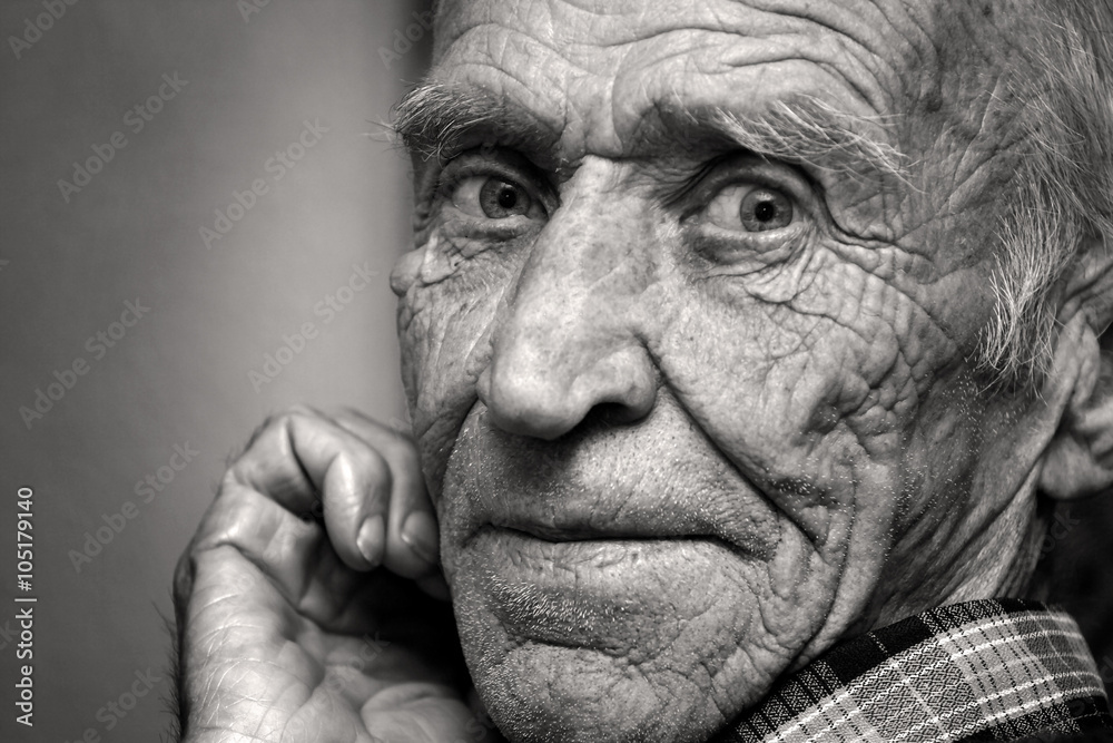 Fototapety, obrazy: Sight of the old man