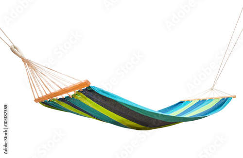 Fototapeta hammock isolated on white