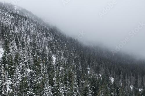 karpaty-babia-gora-w-chmurach-zima