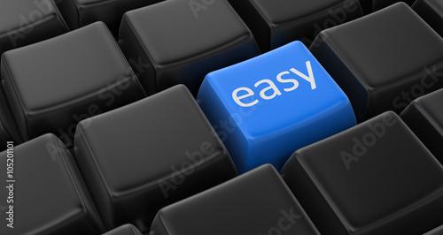 Foto Easy key concept