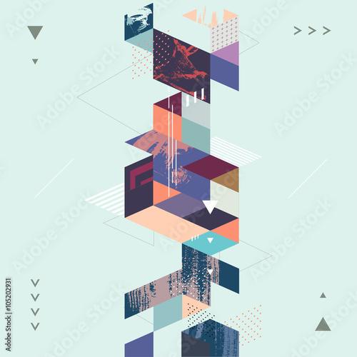 abstrakcjonistyczny-nowozytny-geometryczny-tlo