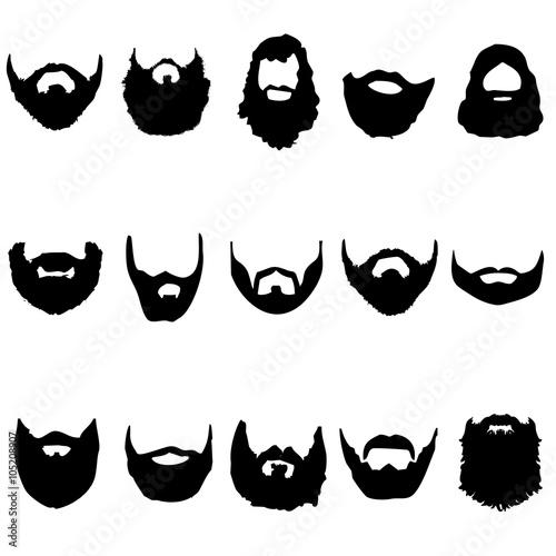 Papel de parede  barba