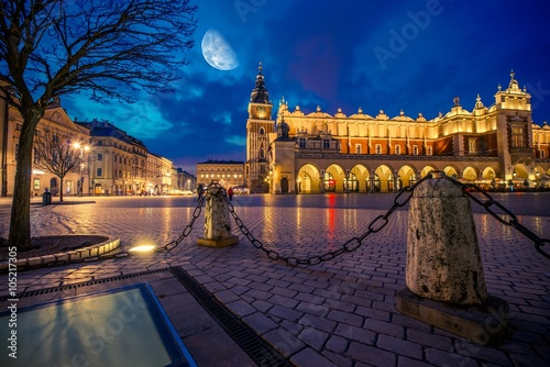Photo  Krakow Main Market Place