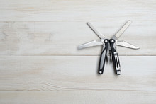 Multi Tool With Black Handles ...