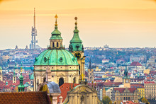 Prague, Nicholas Cathedral And...