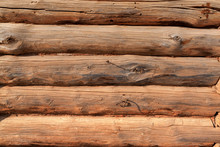 Wooden Logs Background Texture