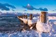 Buhne an der Ostseeküste bei Zingst