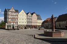 Dorfbrunnen; Marktplatz; Hessenpark