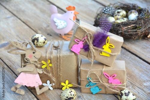Ostergeschenke Osterkarte Kleine Geschenke Mit Liebe Verpackt