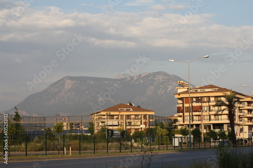 Fototapety, obrazy: view of the town
