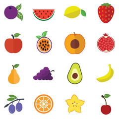 Collection of Fruits icons