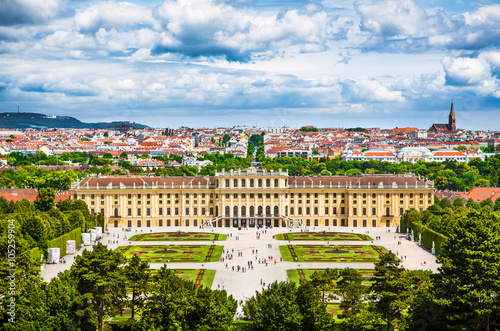 Photo  Schloss Schonbrunn, Vienna, Austria