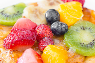 FototapetaMixed fruit tart