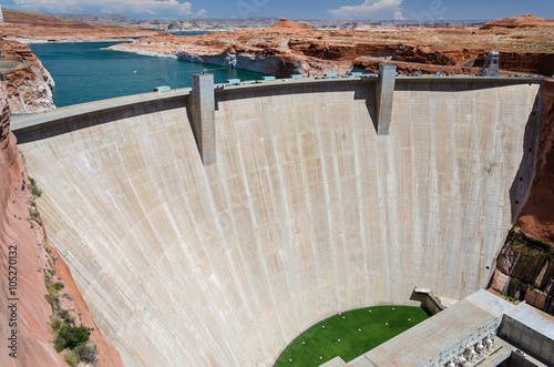 Tuinposter Dam Staudamm Wasserkraft