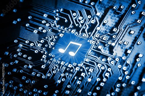 Zdjęcie XXL Nutka na chip komputerowy
