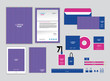 corporate identity template for your business includes CD Cover, Business Card, folder, ruler, Envelope and Letter Head Designs S