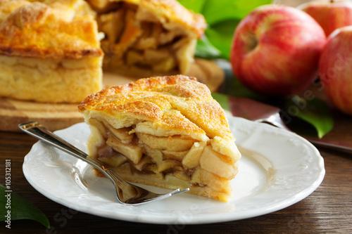 Cuadros en Lienzo Classic American apple pie.