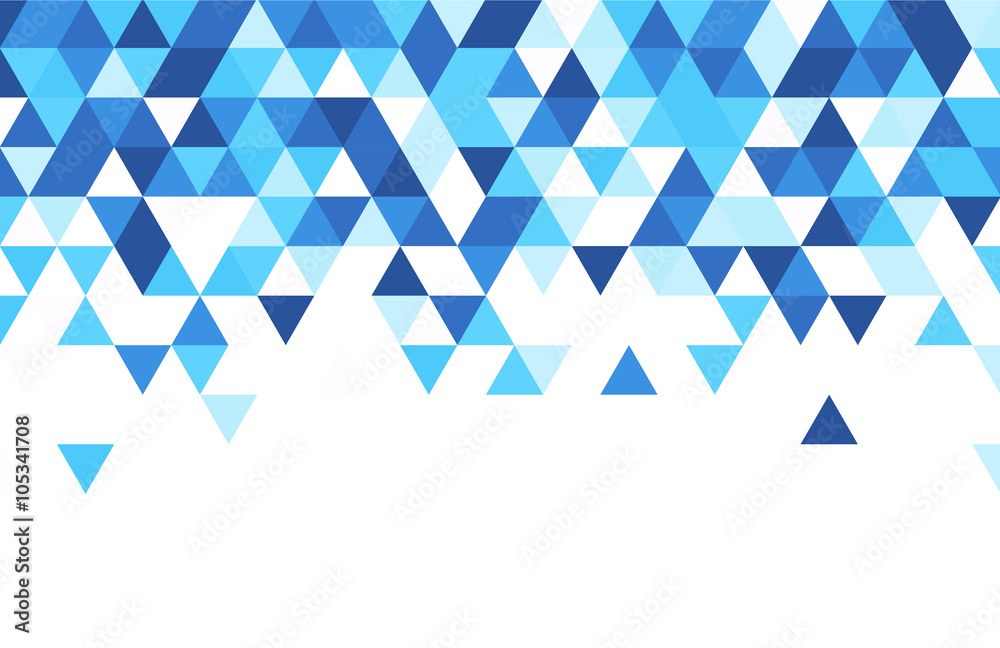 Fotografia Blue and white abstract background.