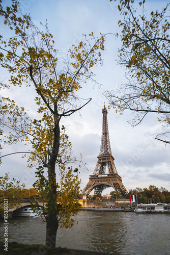 Wall Murals Central Europe France, Paris, Eiffel Tower