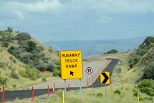 Runaway Truck Ramp In Arizona