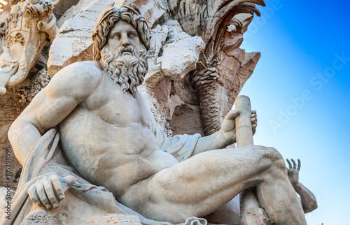 Piazza Navona, Rome in Italy Fototapet