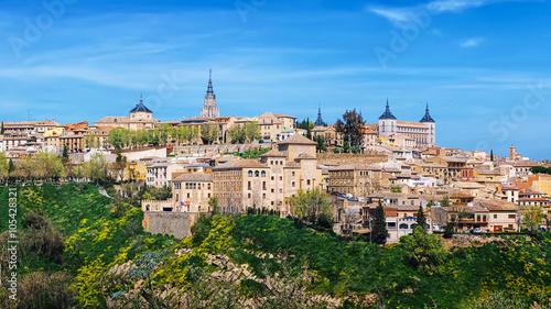Keuken foto achterwand Turkoois Toledo, Spain