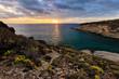 Tenerife landscape - Costa Adeje sunset