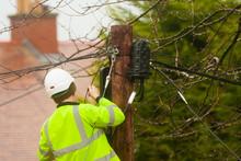 Communications Repair Man
