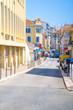 Architecture of Santa Margherita Ligure, which is popular touristic destination in summer